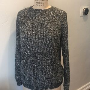 BB Dakota sweater with sequins